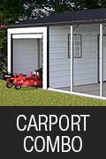 Carport Storage Combo - Eagle Buildings NM